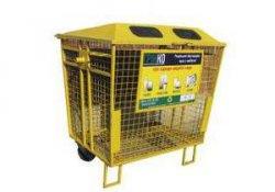 В Киеве крадут контейнеры для мусора