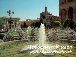 В киевский фонтанах лучше не купаться