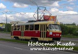 В ноябре запустят трамвай на Борщаговку