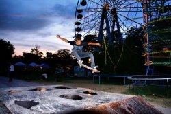В столице открыли первый скейт-парк
