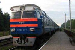 Дизельный поезд Киев-Петровка - Вышгород вернулся на маршрут