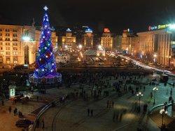 Елка на Майдане самая лучшая в Восточной Европе