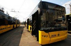 В Киеве сократится интервал движения общественного транспорта