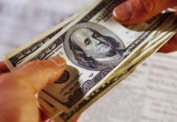 Из обменных пунктов Киева пропадает доллар