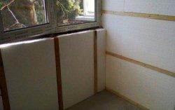 Технология утепления. Как правильно приклеить пенопласт к стене?