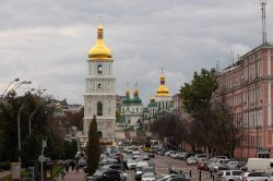 Стройку возле Софии Киевской признали незаконной