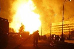 На проспекте Победы сгорел киоск