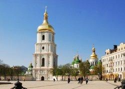 Возле Софии Киевской начались раскопки