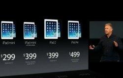 Новый iPad Air также популярен на рынке
