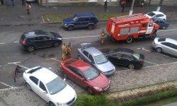 Сотрудники ГАИ задержали поджигателей машин