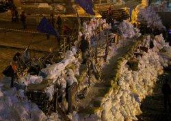 В Киеве нашлись активисты, которые выступают против баррикад Евромайдана