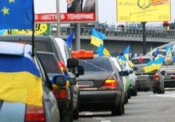 ГАИ приходит в гости к киевлянам участвующим в Автомайдане