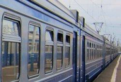 День без метро: киевляне пересели на городскую электричку
