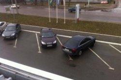 ГАИ борется с незаконными парковками