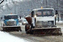 Киевавтодор требует финансирования на ремонт снегоуборочной техники