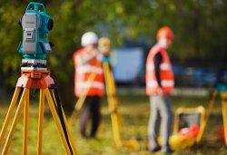 Геодезические работы – требуют высокоточного оборудования