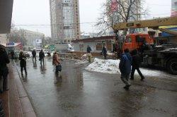 В столице убрали все МАФы установленные возле метро