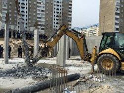 На Позняках опять строительный скандал