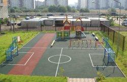 Виталий Кличко побывал на открытии спортивного комплекса в школе