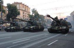 Киевавтодор не в восторге от парада военной техники