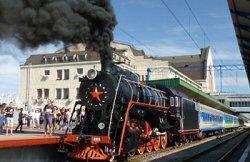 На День Независимости пустят дополнительный рейс ретро-поезда