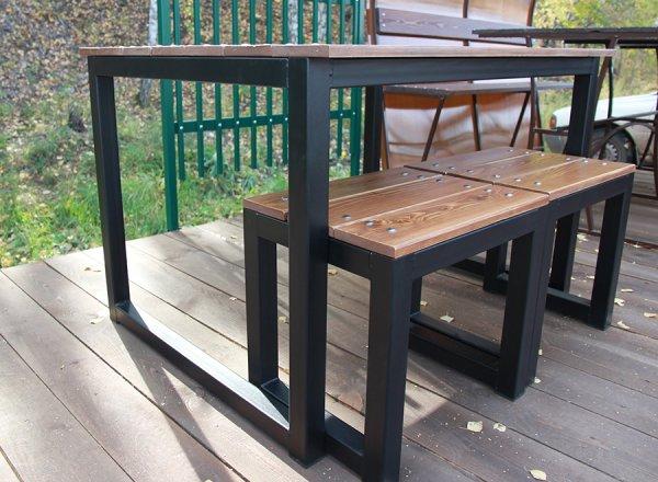 Идеи для мебели из профильных труб