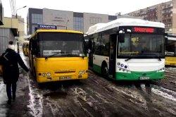 В Киеве вышел на маршрут первый электробус