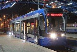 В пятницу 28 декабря скоростной трамвай изменит свой график