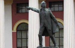 Памятник Суворову в Киеве перенесут