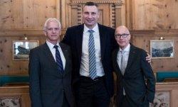 Виталий Кличко побывал на Всемирном экономическом форуме