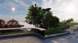 В следующем году пройдёт реконструкция Пейзажной аллеи