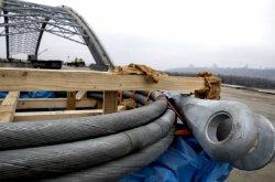 Подольско-Воскресенский мост в Киеве строят ускоренными темпами