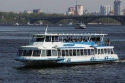 Прогулочные катера по Днепру запустят 22 мая