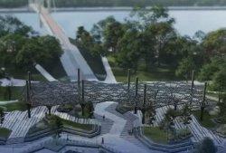 В КГГА показали, как будет выглядеть новая зона отдыха у Пешеходного моста
